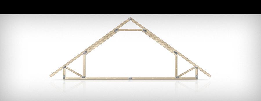 Attic frame truss · Sepa Oy